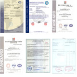 Пластичный двойной штрангпресс винта с CE и ISO9001
