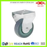 Roda giratória de placa giratória de 50 mm (P110-32C050X17)