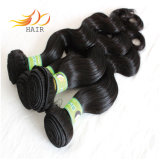 Remyの卸し売りマレーシアの毛編むボディ波の毛のよこ糸