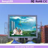 Cartelera fija al aire libre de SMD P10 LED para la visualización video