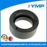 Gira de CNC con anillo de aluminio anodizado negro