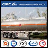 Cimc fuelóleo da liga de alumínio de Huajun 3axle/petroleiro da gasolina/Diesel/LPG