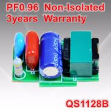 18-26W PF0.96非絶縁T5/T8 LEDの管ライトプラグの電源QS1128b