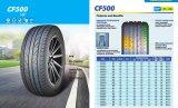 O carro de Comforser monta pneus CF500 com preço do competidor