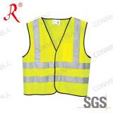 Veste reflexiva da segurança do Workwear elevado da visibilidade (QF-504)