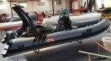 Canto 5.8m 19FT de Boot van de Glasvezel van de Boot van de Rib van de Goede Kwaliteit met Ce Cert. Pvc Material of Hypalon op Sale