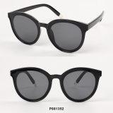 Óculos de sol de tamanho grande das mulheres novas da forma com pontas de metal