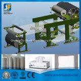 Neue Toilettenpapier-Ausschnitt-Maschine verwendet für das Konvertieren der riesigen Rolle