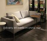 Sofà moderno del salone del sofà del cuoio del tessuto del sofà (D-71)