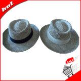 Chapéu Twisted do plânton vegetal, chapéu do plânton vegetal, chapéu de palha do jogador, chapéu do jogador