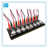 Débit de charge de batterie à 8 canaux Testeur électrique avec logiciel