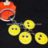 Correntes chaves da face feita sob encomenda barata simples do sorriso