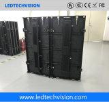 중국 LED 스크린 공급자, P3.91mm는 임대 LED 스크린을 구부렸다