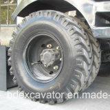 Máquinas escavadoras pequenas novas amplamente utilizadas da roda que travam a máquina da madeira/Sugarcane