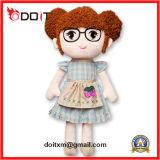 Boneca de boneca de boneca recheada de peluaria feita à medida