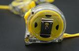 heißer Edelstahl-messender Band ABS Kasten der Verkaufs-10m mit transparentem Fall