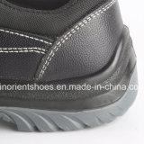 Low-Cut Mensen die van de Schoenen van de Veiligheid van de Injectie van Pu Schoenen RS8123 werken