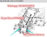Sdlg LG953 LG956 LG958 Rad-Ladevorrichtung zerteilt Pin Lgb301-50d9*N*140-40cr 4043000011