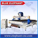 1800*3600mmの機械、高速スピンドルモーターを搭載する木工業CNCのルーターを作る大きいベッドのサイズのプラスチック家具