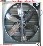 Гальванизированный стальной электрической большой вентилятор парника ветра установленный стеной
