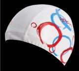 Preiswerte Preis-gute Qualitätserwachsene Größe Lycra Swim-Schutzkappe mit PU-Mantelswim-Hut