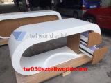 Стол офиса Guangdong изогнутый мебелью мраморный красивейший