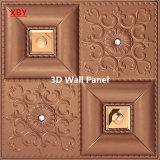 Panneau mural en cuir PU Panneau décoratif en 3D Panneau acoustique