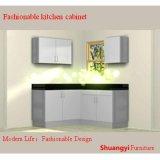 Gabinete de cozinha material de madeira de Worktop de quartzo