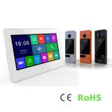 Speicher 7 Zoll inländisches Wertpapier-Touch Screen Doorphone Systems-