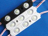 1.2W 5730 module imperméable à l'eau à rendement élevé de l'injection DEL avec la lentille