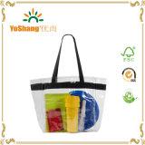 日の明確なトートバック、PVCショッピング・バッグ、透過ショッピング・バッグ