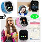 3G WiFi 통신망을%s 가진 접촉 스크린 손목 GPS 추적자 시계