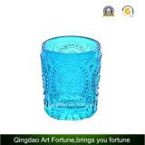 Bougie de verre votive peu coûteuse pour le décor de mariage de fête