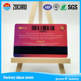 Tarjeta de contacto de inyección de tinta de PVC con banda magnética