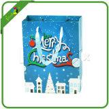 Sacchetto di carta stampato decorativo del regalo di natale