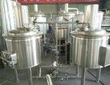 200L熱湯タンクが付いている商業ビールビール醸造所装置