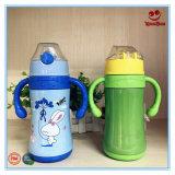 Garrafa de água com balão de vácuo de aço inoxidável para criança