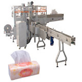 De automatische Machine van het In zakken doen van de Verpakking van het GezichtsWeefsel