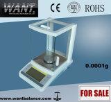Balanço analítico de pesagem de laboratório (0.0001g * 0-100g / 0-160g / 0-200g / 0-220g)
