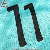 Healongの安い価格の服装ギヤSizes&Numberの昇華バスケットボールのジャージ