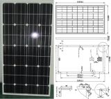 18V 110W 115W 120W Monocrystalline Solar Panel PV Module con Ce Approved (SMP-110W)
