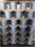 수송 사용법을%s 직류 전기를 통한 철강선 밧줄 6X7/7X7/6X19/6X37