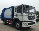 Dongfeng 15t LHD 패물 트럭 15 입방 미터 쓰레기 컴퓨레스 트럭 가격