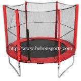 8ft Ronde Trampoline met het Net van de Veiligheid (rode) 083248s2y