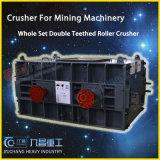 Granito che schiaccia macchina per l'estrazione mineraria con il frantoio a cilindro doppio con l'iso