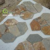 Natural esterno Stone Pavement Rustic Slate Flagstone (bramma rustica S015)