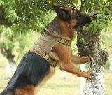 No se tira al aire libre Clip frontal reflectante Arnés de adiestramiento de perros tácticos de trabajo de la Mascota el chaleco Easy Control Gran Perro eléctrico