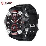 Lemfo Lemd 2020 uomini di Smartwatch di linguaggio della vigilanza di sport multi di Tws Bluetooth del trasduttore auricolare 2in1 360*360 HD della batteria astuta della visualizzazione 350mAh