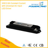TUV Approuvé 24W 0.6A Constant LED Current Power Supply