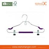 Вешалка одежд пены металла с зажимами (E8001)